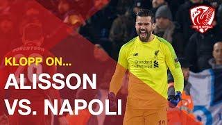 Jurgen Klopp praises Alisson, his defence and Anfield