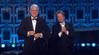 Martin Short and Steve Martin - David Letterman Mark Twain Award