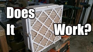 Affordable Workshop Air Filtration  It Could Save Your Life   THE HANDYMAN  