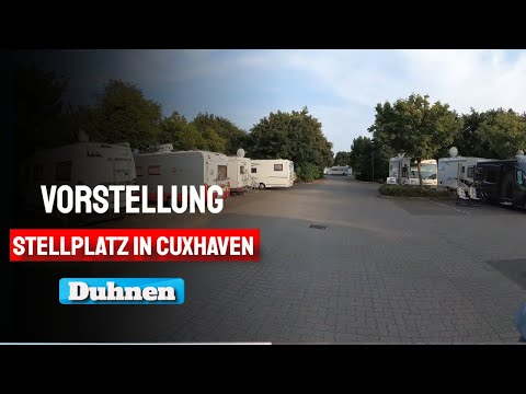 Camping in Cuxhaven Duhnen Nordsee