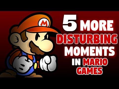 Xxx Mp4 5 MORE Disturbing Moments In Mario Games 3gp Sex