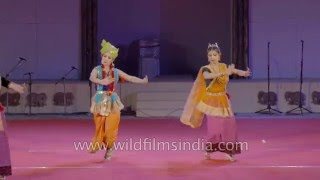 Tanou - a classical dance by Manipuri Jagoi Marup from Manipur Part 2