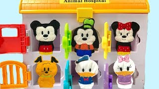 Learn Colors with Mickey Mouse Clubhouse Doc McStuffins Hospital Paw Patrol Magic | Fizzy Fun Toys