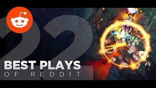 Dota 2 Best Plays of Reddit - Ep. 22 (Most Upvoted TI7 Posts)