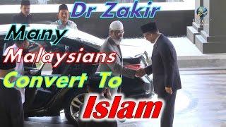 Dr Zakir Naik In Malaysia - Many Malaysians Convert To Islam!