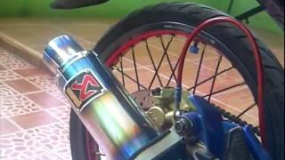 Knalpot Jupiter MX Suara Knalpot Ninja Knalpot Akrapovic Mugello Racing Custom