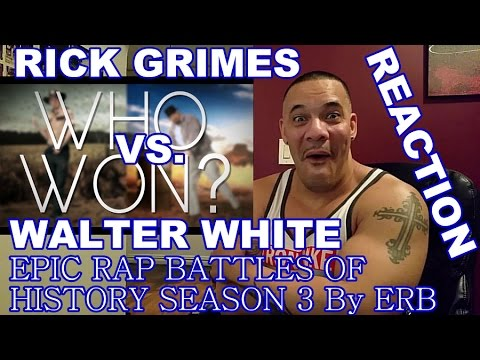ERB Rick Grimes vs Walter White Reaction