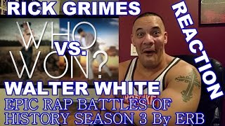 ERB Rick Grimes vs Walter White Reaction