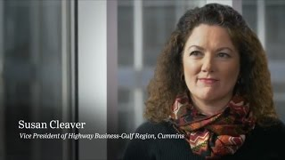 Susan Cleaver, VP at Cummins - Women and Leadership