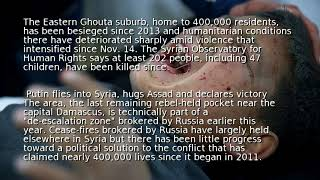 U.N. says 137 Syrian sick kids stranded in rebel enclave