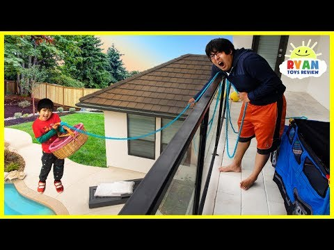 Xxx Mp4 Ryan Challenge Daddy To 24 Hour Challenge Overnight Up The Balcony 3gp Sex