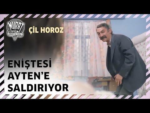 Çil Horoz Eniştesi Ayten e Saldırıyor