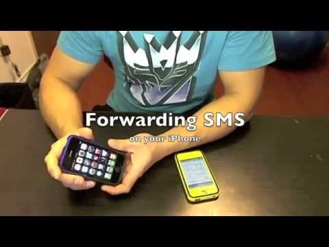 Auto Forwarding SMS on your iPhone via Email