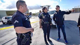 POLICE RESPOND TO ALEX CHOI'S BMW M2 GUNSHOT EXHAUST SOUNDS!