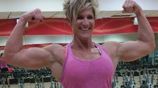 49 years young Sonya Arellano - Female muscle