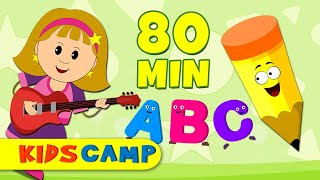 ABC Song | ABC Songs for Children | Popular Nursery Rhymes Collection PART 6 by KidsCamp