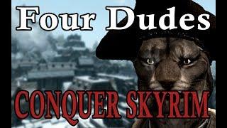 Four Dudes Conquer Skyrim
