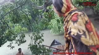 Emni Emni Rainy Day Masti | ওহ! পুকুরে গোসলের অানন্দ