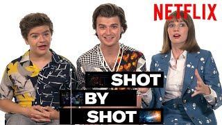 Stranger Things 3 Cast Gaten Matarazzo, Joe Keery & Maya Hawke Break Down a Scene   Shot by Shot