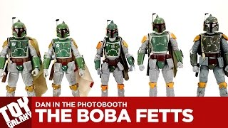 Dan in the Photobooth #63 - The Boba Fetts (Black Series, Mafex, Bandai, Revoltech, Bootleg)