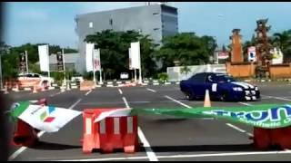 Toyota soluna slalom