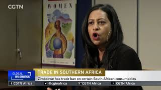 Trade between Zimbabwe and South Africa declining