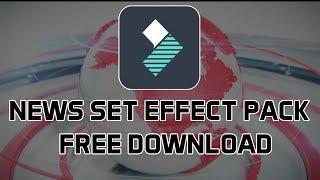 News Set Effect Pack for Wondershare Filmora Free Download