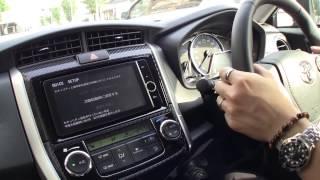 TOYOTA COROLLA FIELDER 2013 model Test drive