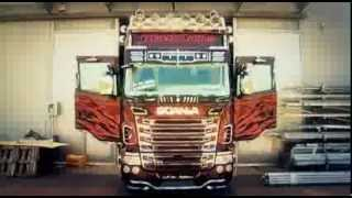 Camion tuning: Scania Black Amber for Marra by Acitoinox