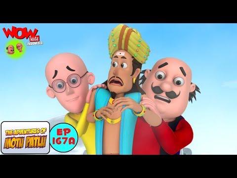 Mystery of a message - Motu Patlu dalam Bahasa - Animasi 3D Kartun | WowKidz Indonesia
