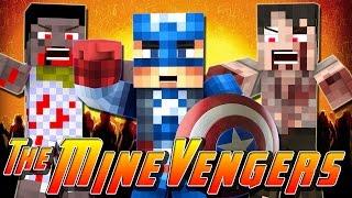 Minecraft MineVengers - ZOMBIE APOCALYPSE!!