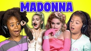 KIDS REACT TO MADONNA