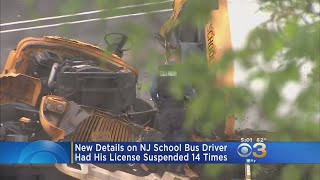 School Bus Driver In Deadly Crash Has License Suspended 14 Times