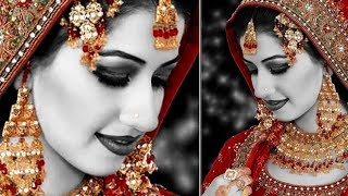 How To Wedding Bride Photo Grey Effects in Photoshop | Wedding Photo Editing Tutorial in Hindi