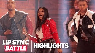 "Tarji P. Henson's ""Beat It"" Highlights | Lip Sync Battle Live: A Michael Jackson Celebration"