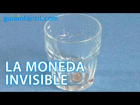 La moneda invisible. Experimentos para niños