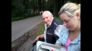 creepy old men in the park
