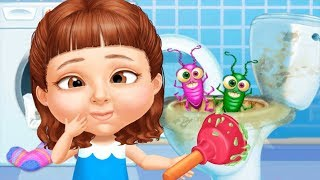 Sweet Baby Girl Cleanup 5 - Messy House Makeover - House Chore Clean Up Fun Kids Games By TutoTOONS