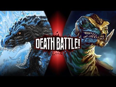 Godzilla VS Gamera | DEATH BATTLE!