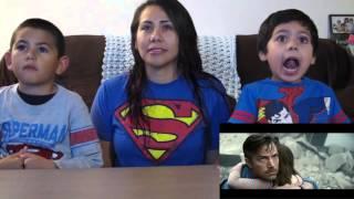 Batman v Superman Dawn of Justice Official Trailer 2 Reaction Cynthia's Batman vs. Superman Woman
