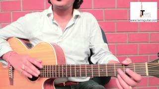 Easy Hindi song for beginners Jab koi baat bigad jaaye/500 miles guitar lesson