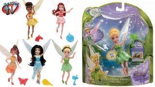 Disney Fairies Tinker Bell Magic Glow Fairies Doll Toy Review, Jakks Pacific
