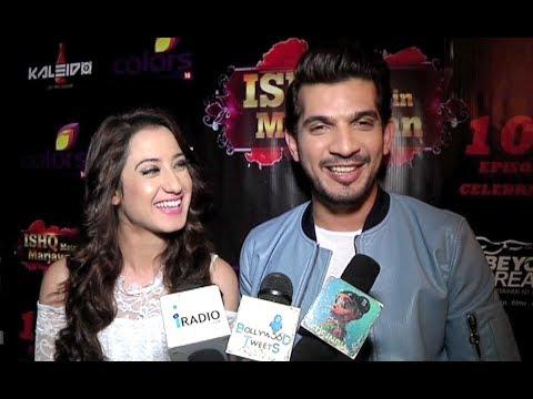 Xxx Mp4 Arjun Bijlani And Alisha Panwar Interview At Ishq Mein Marjawan 100 Episode Celebration 3gp Sex