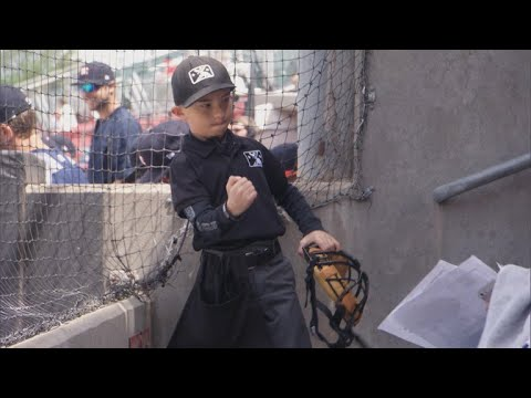 An umpire's biggest fan