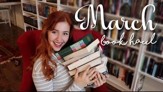March Book Haul | Princes, Folklore, Hogwarts, oh my!