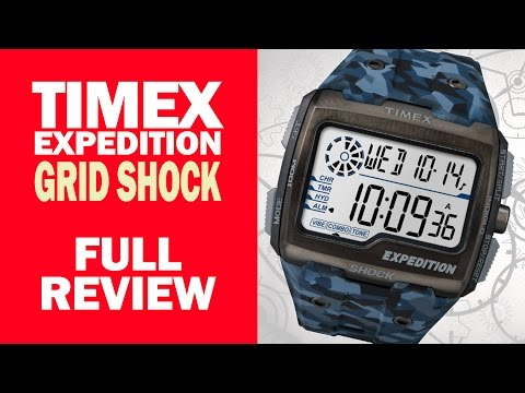 Timex Expedition Gridshock - TW4B07100 - Full Review - I Review Crap!