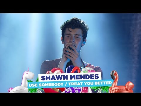 Shawn Mendes - 'Use Somebody  Treat You Better' (live at Capital's Summertime Ball 2018)