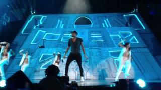 Chris Brown Yeah 3X & Dont Wake Me Up Live Stockholm Globen 19/11 2012