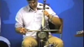 Shahab Ramhormozian is playing Kamancheh, (solo)
