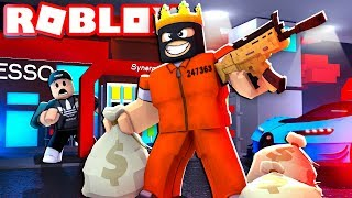 Robbing The Jewelry Store In Roblox Roblox Mad City Gta 5